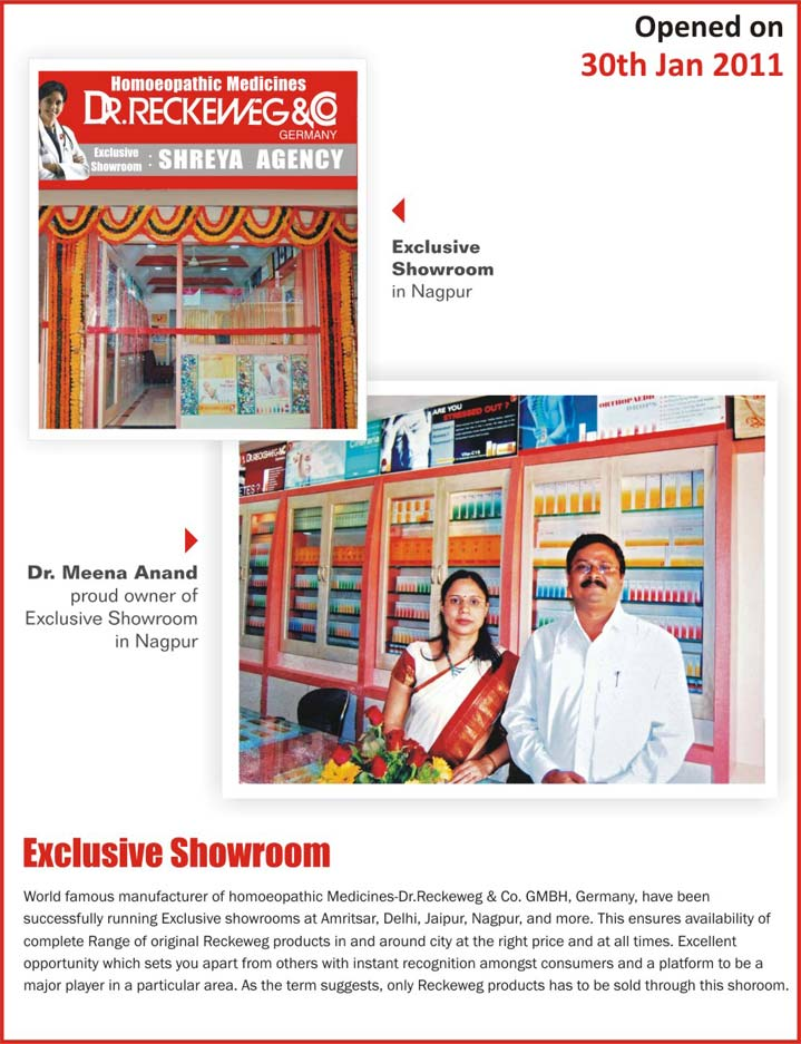 Dr. Reckeweg Showroom Nagpur