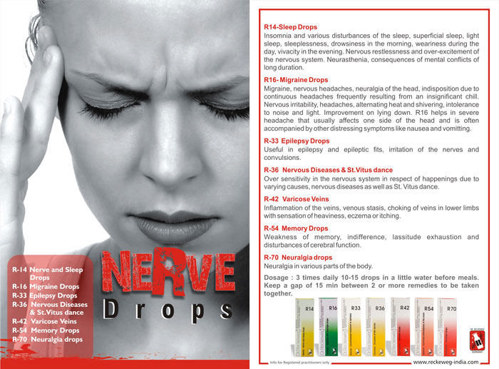 Homeopathic Medicine for Nerve Weakness