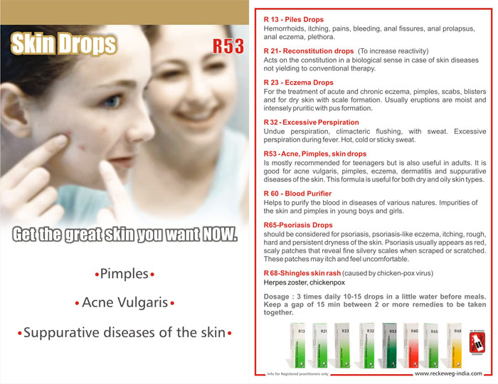 Homoeopathic Medicines For Skin Diseases,Homoeopathy For